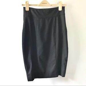 Classic Burberry pencil skirt